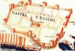 Το Καστέλι.(ΛΕΠΤΟΜΕΡΕΙΑ ΣΧΕΔΙΟΥ, FRANCESCOBASILICATA, 1618)