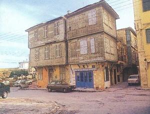 Ξύλινα σπίτια στην οδό Θεοτοκοπούλου